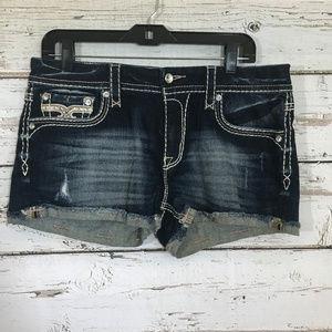 Rock Revival Nancy Embellished Shorts